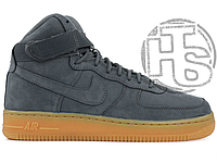 "8d39e036 Зимние Кроссовки Nike Air Force 1 High ""Black Gum"" с Мехом (Реплика ..."
