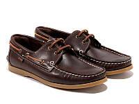 Топ-сайдеры Etor 8066-968-02 44 коричневые, фото 1
