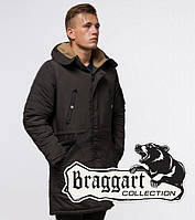 Парка мужская зимняя коричневая Braggart Arctic 90520R