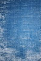 Пушистый ковер 3-D mono голубой