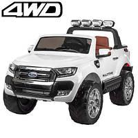 Детский электромобиль Джип «Ford» M 3573EBLR-1 (4WD полный привод) Белый