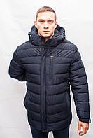 Мужской зимний тёплый пуховик куртка парка пальто большого размера батал терлик