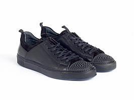 Кеди Etor 8730-78 44 чорні