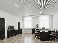 Подвесной потолок из кубической рейки, H 35 мм, W 35 мм