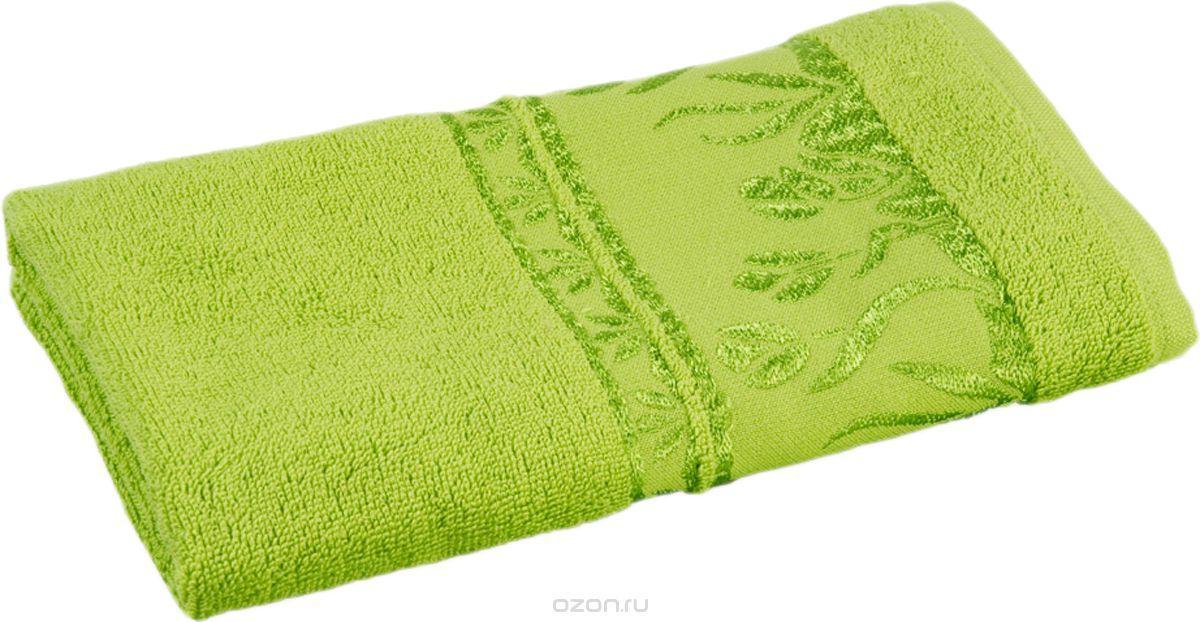Полотенце махровое для рук в Цветочек