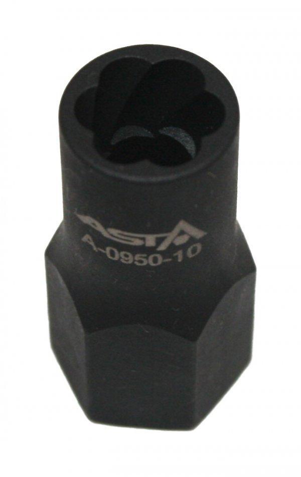 Головка Cr-Mo 3/8 -11мм Super Lock для злизаних гайок ASTA A-0950-11