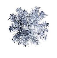 Шар-снежинка большой (мишура) d-60