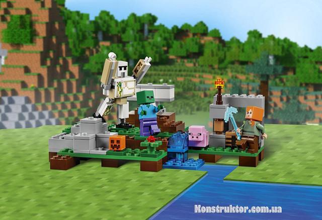 """Конструктор Bela 10468 Minecraft """"Железный голем"""" купить"""
