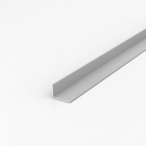 Кутник алюмінієвий 30х20х1,2 без покриття