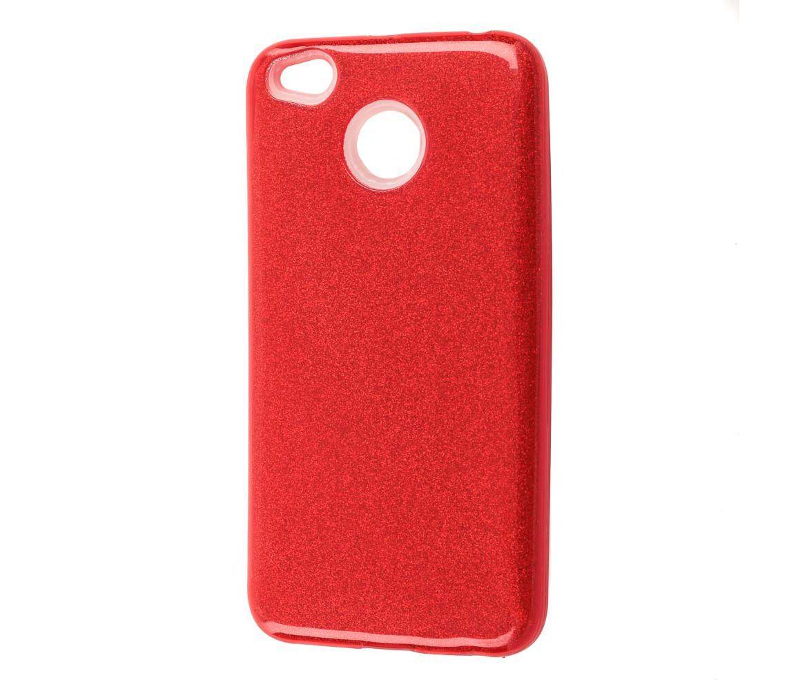 "Накладка Xiaomi Redmi 4x ""Shine"" Красная"