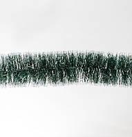 Гир.75 (зеленая с серебр.конч.) 2м