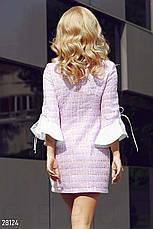 Оригінальне  плаття з м'якого букле з ниткою люрексу  розмір 44 46 48, фото 3