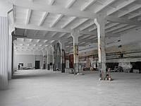 Покраска потолков и стен в  промышленных помещениях