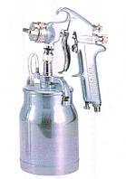 Покрасочный пистолет 'Краскопульт' 3-6 Атм, 337-421 л/мин, дюза 1,6мм, алюминевый бачок