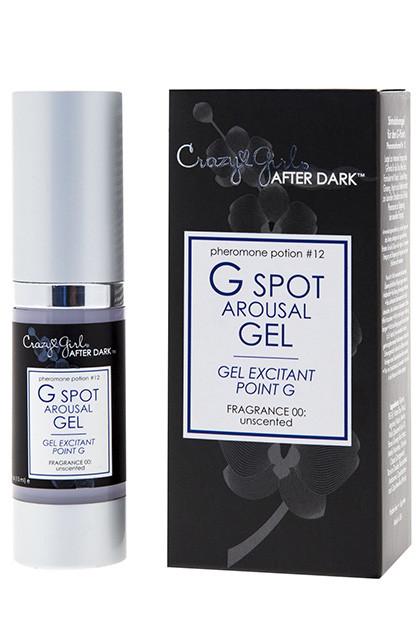 Стимулирующий гель точкуG CZG AFTER DARK, Potion #12, G Spot Arousal Gel w/Pheromones, Unscented, .5 Fl. Oz