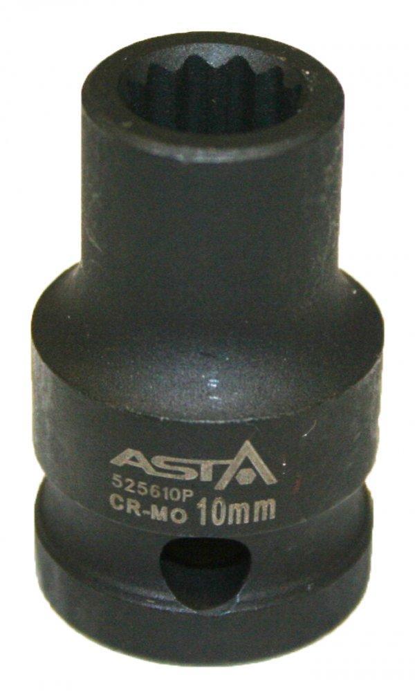 Головка ударная 12-гр. 1/2 8мм ASTA 525608P