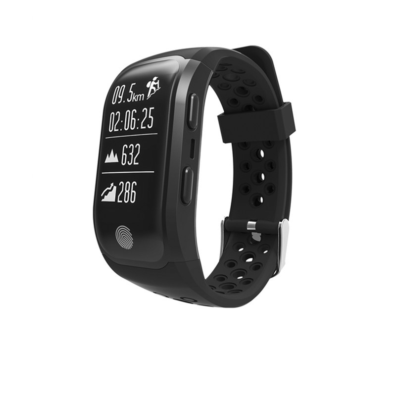 Фитнес-трекер Smart Band S908 GPS  Черный