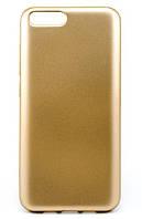 Чехол ROCK матовый Huawei Nova 2 (золото)