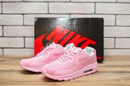 Кроссовки женские найк аир макс 90 розовые (реплика) Nike Air Max 90 Pink 144d626bec0