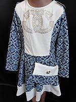Детские  платья из трикотажа., фото 1