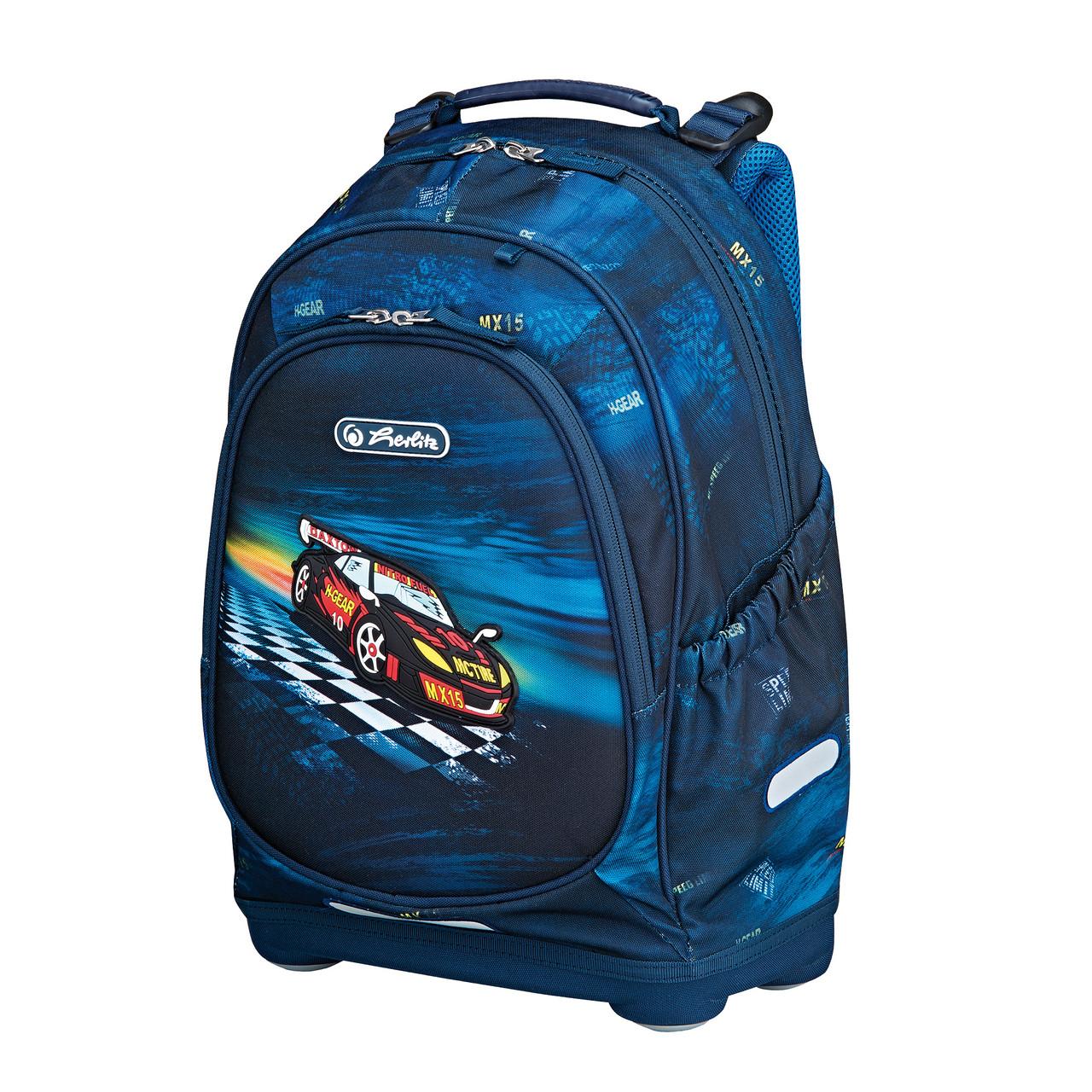 Рюкзак школьный Herlitz BLISS Super Racer (50008100)