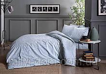 Набор постельного белья TAC Fabian Mint сатин (семейный размер - 2 пододеяльника)