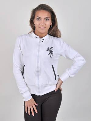 Кофточка молодёжная на замке с карманами на кнопках