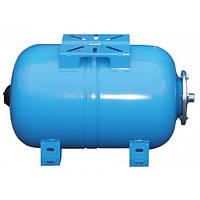 Горизонтальный расширительный мембранный бак для холодного водоснабжения Aquasystem VAO 24л