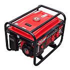 Генератор бензиновый макс мощн. 2,4 кВт., ном. 2,2 кВт., 5,5 л.с., 4-х тактный, ручной пуск 40,7 кг. INTERTOOL DT-1122, фото 4