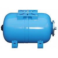 Горизонтальный расширительный мембранный бак для холодного водоснабжения Aquasystem VAO 50л
