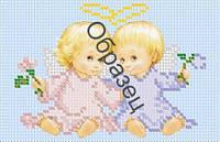 """Схема для вышивки бисером """"Два ангелочка"""""""