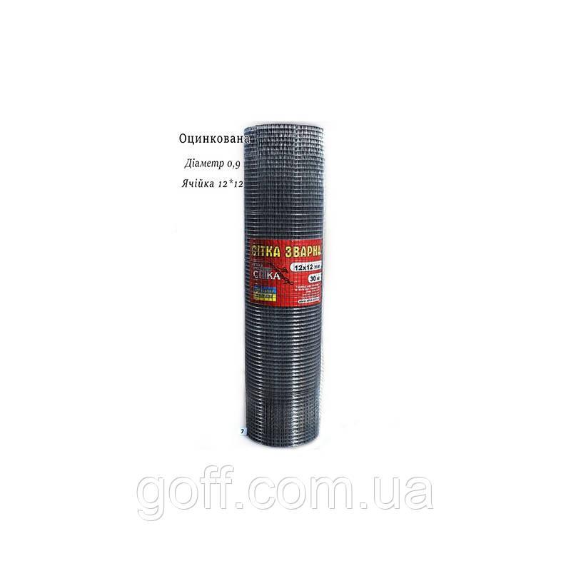 Металлическая сетка 12х12х0.9мм 30мп