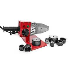 Паяльник для труб из PPR 20-63 мм, 800 Вт, 0-300°С, 230 В INTERTOOL RT-2102