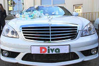 Аренда ЛИМУЗИНОВ в прокат Одесса. ЛИМУЗИН Mercedes W221 (8) в аренду от ДИВА.