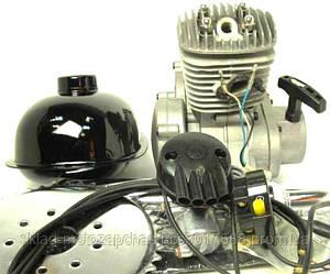 Веломотор/ дырчик в сборе с ручным стартером 80 сс 47мм полный комплект