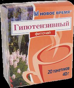 """Фиточай """"Гипотензивный"""" Новое время, 20 пак. (40 г)"""