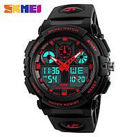 Мужские спортивные часы SKMEI 1270 50 М, цифровые наручные часы с хронографом, фото 1