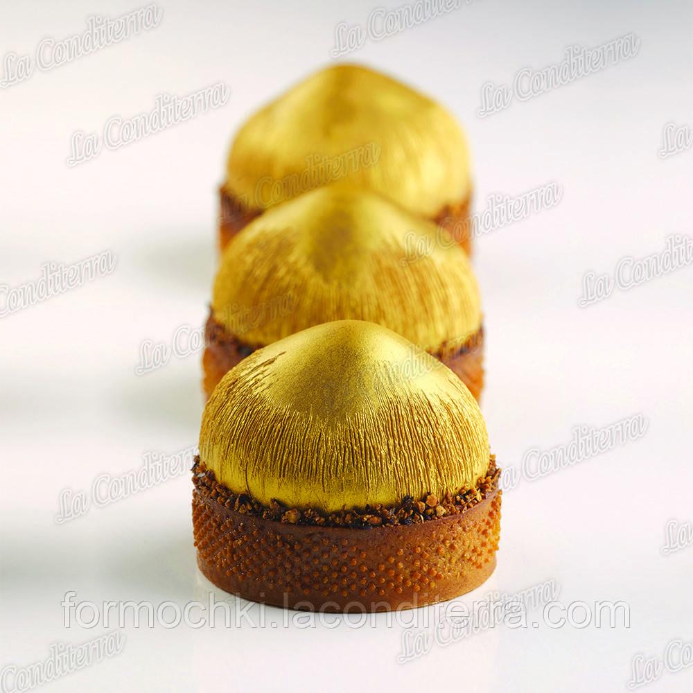 Силиконовая форма для десертов Pavoni PX4358 Noisette