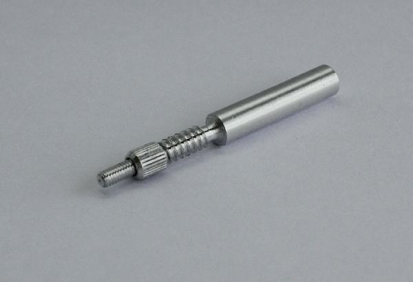 Адаптер-иголка A2S GUN к шомполам Dewey 22Cхх, резьба дюймовая 8/36 внутренняя, дюраль