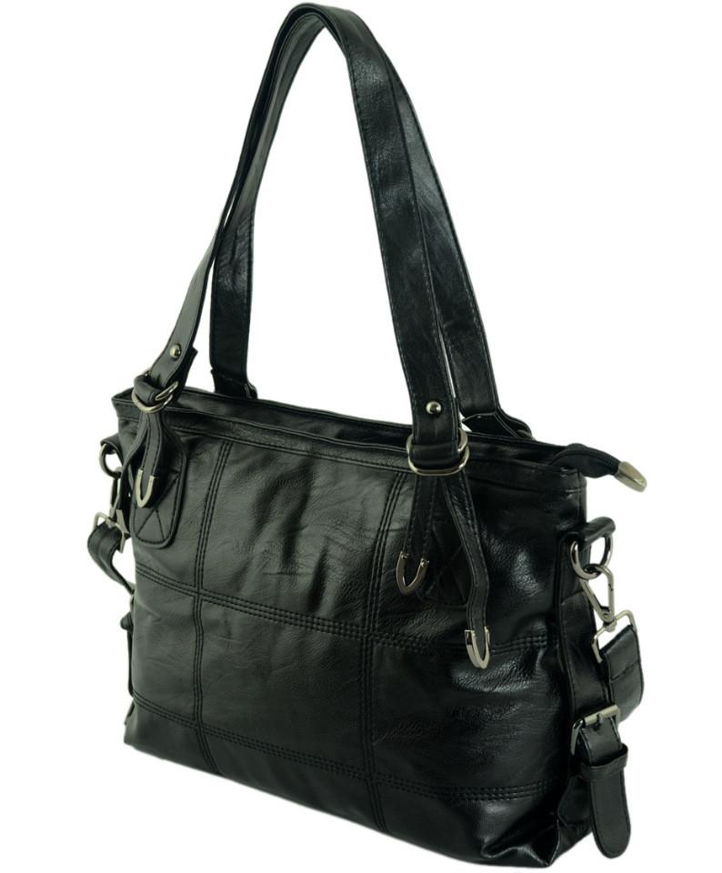 56f6de68c21a Женская сумка TRAUM 7234-25 черный — только качественная продукция ...