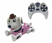 Игрушка на радиоуправлении Робот Собака 888-1F (Розовый), фото 1