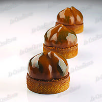 Силиконовая форма для десертов Pavoni PX4357 Marron, фото 1