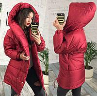 Женская куртка зефирка с капюшоном синтепон 250 (7 расцв.) 42 fb1f04f63c155