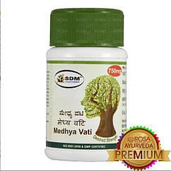 Медха Ваті - аюрведа преміум якості (SDM), 40 табл. по 750 мг