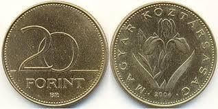 Монета 20 форинтів Угорщина 1993р.