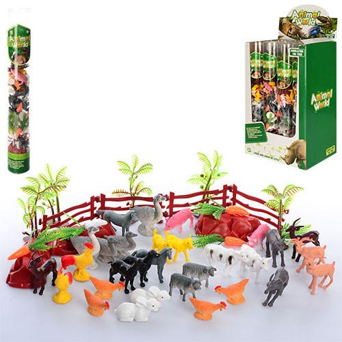 Детский Игровой набор для мальчика Животные 0019T-2