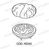 Силіконова форма для десертів Pavoni KE056 Marron, фото 2