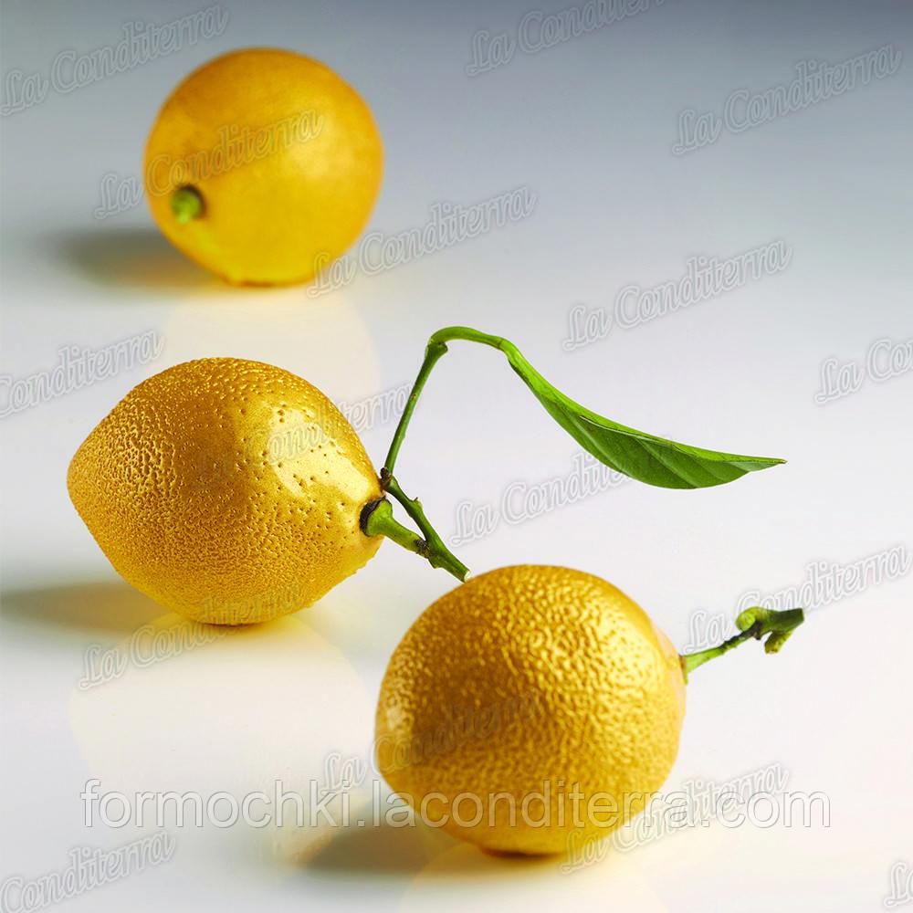 Силиконовая форма для десертов Pavoni AF006 Citron