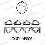 Силіконова форма для десертів Pavoni AF006 Citron, фото 2