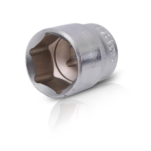 """Головка шестигранная 1/2"""", 30x44 мм,хром-ванадий INTERTOOL ET-0030"""